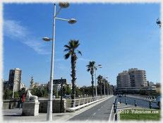 El Pont de Fusta (Puente de Madera) en Valencia ciudad.