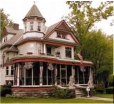 "Zeeland Historical Society's annual Historic Home Tour, set for 10 to 3 p.m. Saturday, traditionally features the home at 360 E. Central Ave. known as 'The Painted Lady.""  — Courtesy photo"