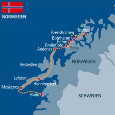 2019: Übernachtung in Svolvær statt in Henningsvær