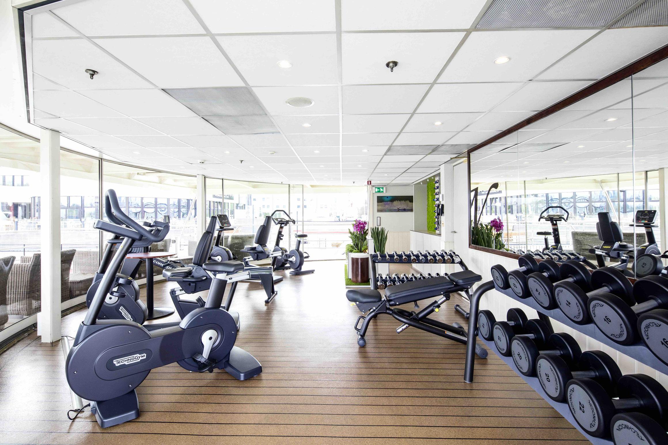 MS Nestroy Fitnessraum