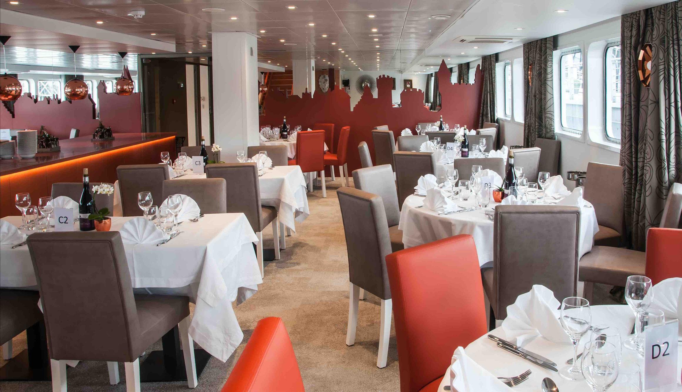 MS Loire Princesse Restaurant