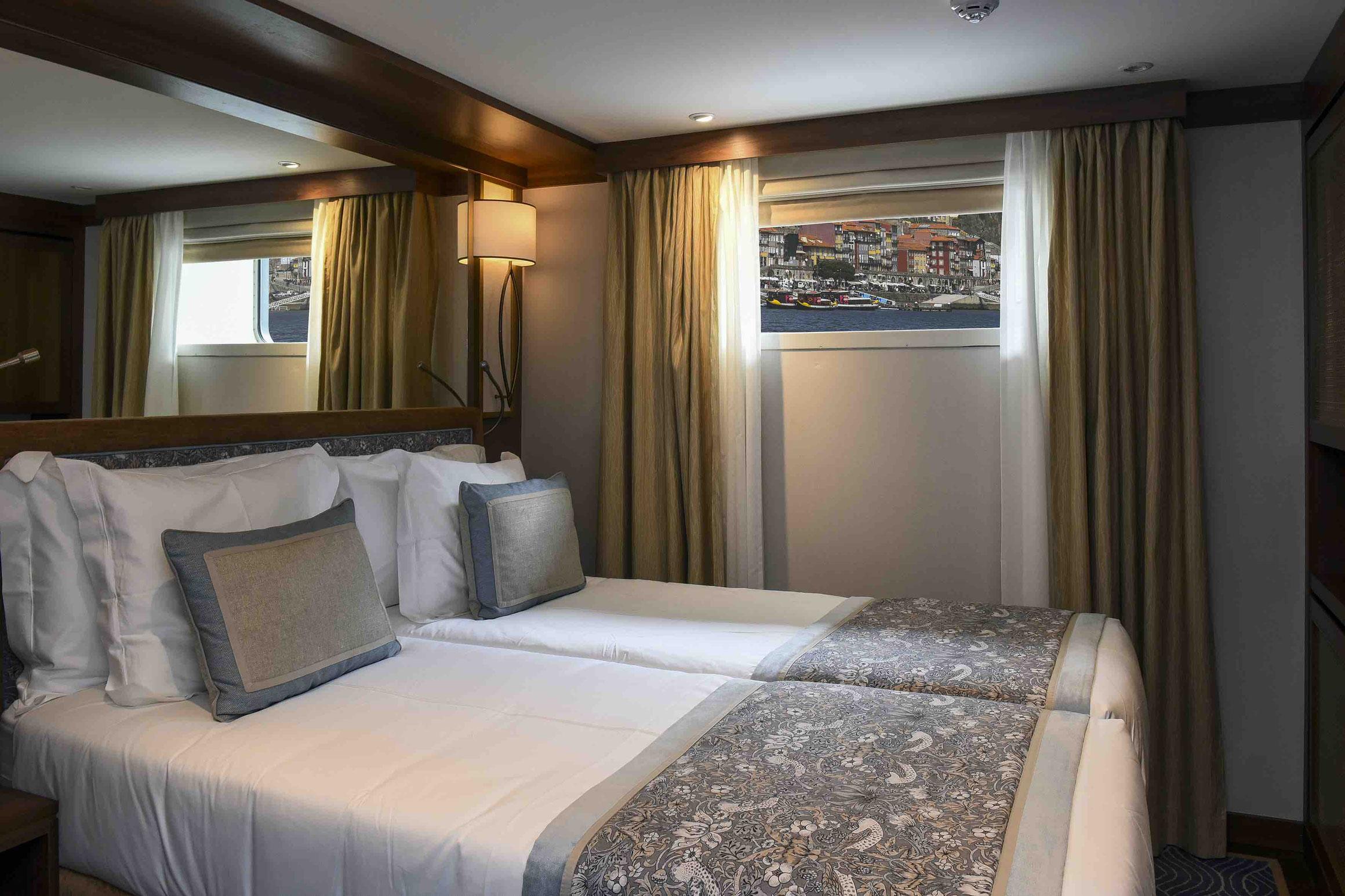 MS Douro Serenity Standard Außenkabine