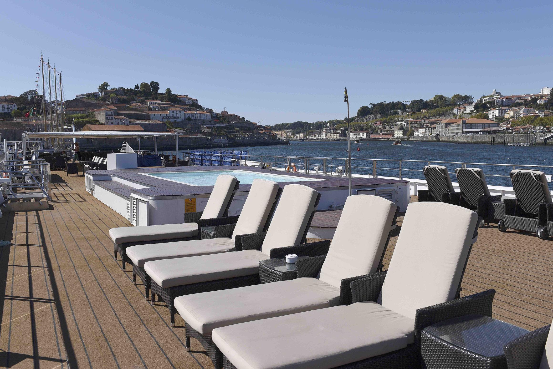 MS Douro Spirit Sonnendeck