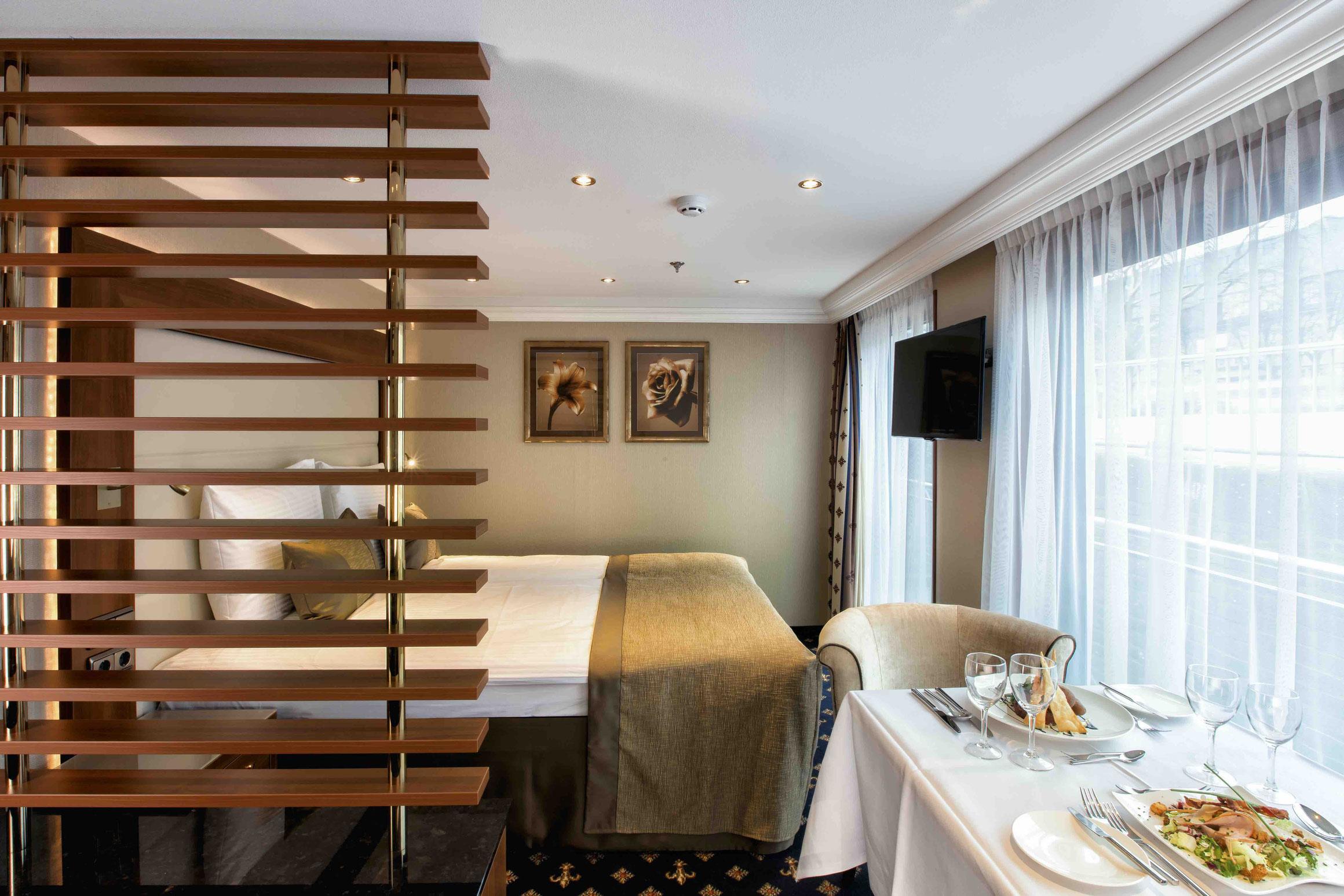 MS LORD BYRON Suite mit französischem Balkon