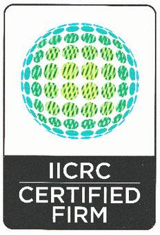 米国IICRC認定会社証明書