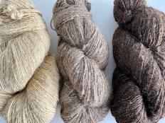 イラン原毛 羊 手紡ぎ糸