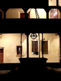 """Christian Schiller Wine Spot (Blog) 8 juillet 2015 Impressions d'une visite aux Hospices de Beaune avec Karoline Knoth / Exposition """"Allons en Vendanges-Meursault dans les années 50 dans les photographies de Maurice Collin"""" au Rheingau"""