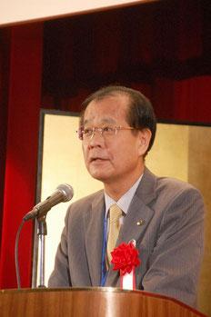 来賓の大塚康男神奈川県産業技術センター所長