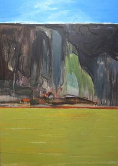 Myanmar2, 2013, Öl auf Leinwand, 240 x 170 cm