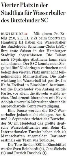 Hamburger Abendblatt vom 30.08.2012