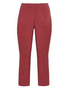 rote Plus Size Damen Hosen , sexy Hintern