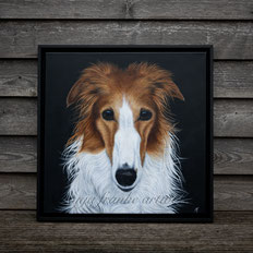 black dog pencil drawing animal