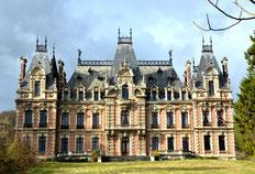 """Le château """"blanc"""" de Flixecourt"""