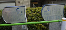 尾﨑士郎・宇野千代住居跡(南馬込)