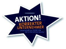 Logo Aktion korrekter Unternehmer