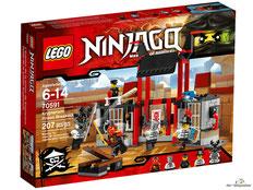 """Bei Bestellung im Onlineshop der-Wegweiser erhalten Sie das Lego Paket 70591 """"Gefängnisausbruch""""."""