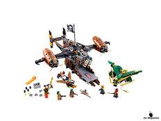 Im Paket Lego 70605 sind 754 Einzelteile mit viel Zubehör enthalten.
