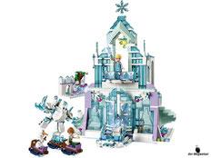 Im Paket Lego 41148 sind 701 Einzelteile enthalten.