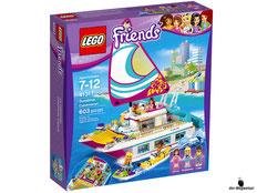"""Bei Bestellung im Onlineshop der-Wegweiser erhalten Sie das Lego Paket 41317 """"Sonnenschein-Katamaran""""."""