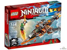 """Bei Bestellung im Onlineshop der-Wegweiser erhalten Sie das Lego Paket 70601 """"Luft-Hai""""."""