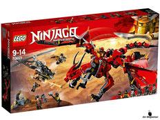 """Bei Bestellung im Onlineshop der-Wegweiser erhalten Sie das Lego Paket 70653 """"Mutter der Drachen""""."""