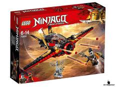 """Bei Bestellung im Onlineshop der-Wegweiser erhalten Sie das Lego Paket 70650 """"Flügel-Speeder""""."""