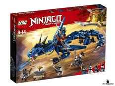"""Bei Bestellung im Onlineshop der-Wegweiser erhalten Sie das Lego Paket 70652 """"Blitzdrache""""."""