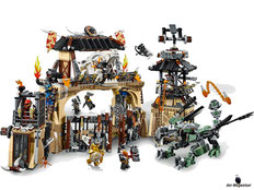 Im Paket Lego 70655 sind 1660 Einzelteile enthalten.