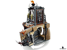 Die Besonderheit im Lego Paket 70655 ist ein ausbruchsicheres Gefängnis.