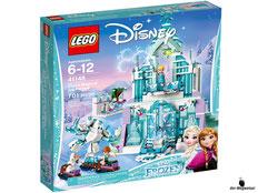 """Bei der Bestellung im Onlineshop der-Wegweiser erhalten Sie das Lego Disney Paket 41148 """"Elsas magischer Eispalast""""."""