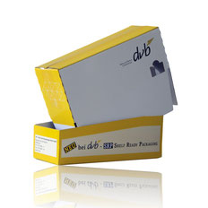 Shelf Ready Packaing (SRP) - Shelf Ready Packaging (SRP) - Vorteile der mehrteiligen Verpackung: Transport, Logistik, Regal & Präsentation. Am POS, für Verbrauchermärkte vom Hersteller - RATTPACk® - Verpackungen in AT und DE - bei der Entnahme