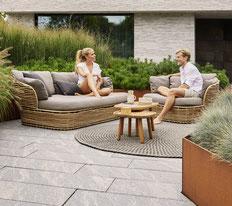 Basket Garten-Lounge von Cane-line