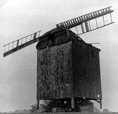 Zustand der Mühle 1960