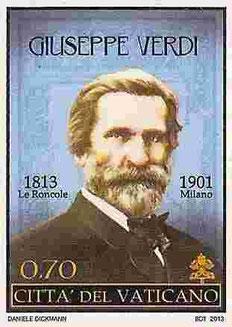 Verdi-Briefmarke