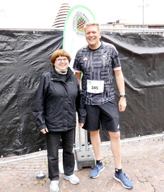 Jörgs 1. Wettkampf nach der Teilnahme am diesjährigen Laufeinsteigerkurs