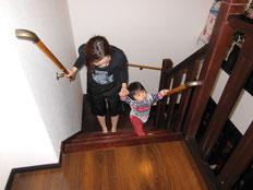 子供用階段手すり