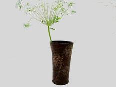 鎌倉漆工房いいざさ 花器 ぜんまい