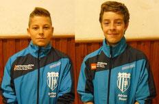 Bastian Seidel & Adrian Bauer (v.l.)