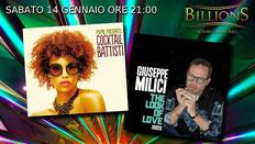 14 Gennaio -  Presentazione CD Giuseppe Milici e Cocktail Battisti (By Papik)