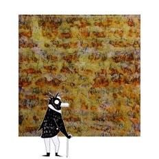 quadro pinguini dal titolo autunno