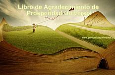 LIBRO DE AGRADECIMIENTO DE PROSPERIDAD UNIVERSAL