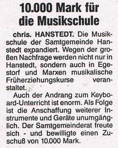 Nordheide Wochenblatt September 1991