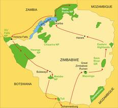 Zimbabwe Campingsafari