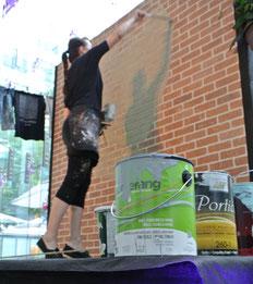 Peinture recyclé éco-responsable Boomerang