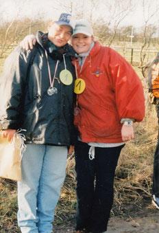 Manuela Brüger (li.) und Doreen Lorenzen