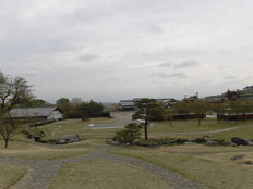 楽山園の広大な庭園の一部