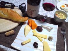 ボージョレヌヴォーとチーズ