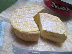 フランスチーズ ルクロン カット面