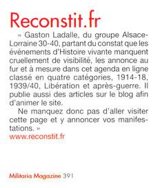 """Cliquez sur l'image pour les archives """"publicitaires"""" de reconstit.fr"""