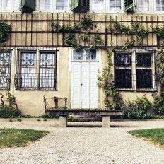 Die Kartause Ittingen liegt in im ostschweizer Ort Warth in der Naehe des Bodensees. Eine sehr schoene Gartenanlage, alte Gebaeude und moderne Kunst sind hier zu finden.